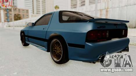 Mazda RX-7 FC3S for GTA San Andreas left view