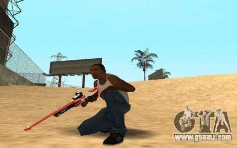 Rifle Cyrex for GTA San Andreas third screenshot