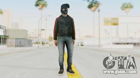GTA 5 DLC Heist Robber for GTA San Andreas second screenshot