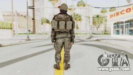 COD BO SOG Woods v2 for GTA San Andreas third screenshot