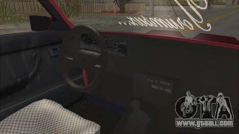 Renault Broadway for GTA San Andreas inner view