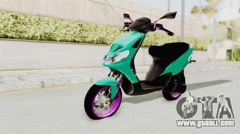 Piaggio 200 CC Lockstyle for GTA San Andreas