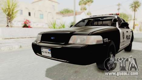 Ford Crown Victoria SFPD for GTA San Andreas
