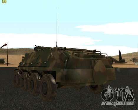 BTR 60 PA for GTA San Andreas right view