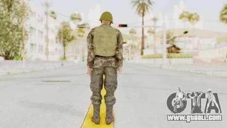 MGSV The Phantom Pain Soviet Union VH Sleeve v2 for GTA San Andreas third screenshot