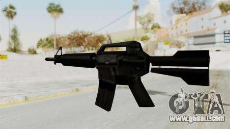 Liberty City Stories M4 for GTA San Andreas third screenshot
