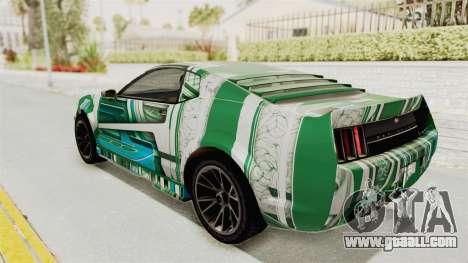 GTA 5 Vapid Dominator v2 IVF for GTA San Andreas