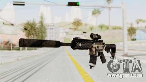 P416 Silenced for GTA San Andreas second screenshot