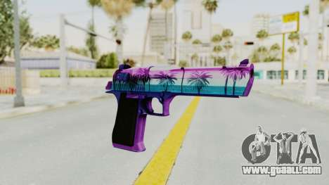 Vice Desert Eagle for GTA San Andreas
