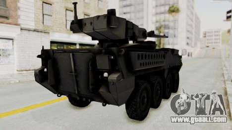 M1128 Mobile Gun System IVF for GTA San Andreas right view