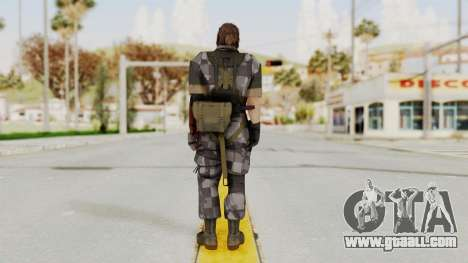 MGSV The Phantom Pain Venom Snake No Eyepatch v7 for GTA San Andreas third screenshot