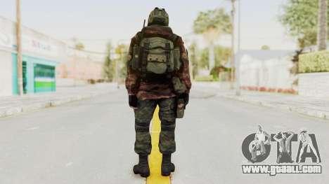 Battery Online Russian Soldier 8 v1 for GTA San Andreas third screenshot