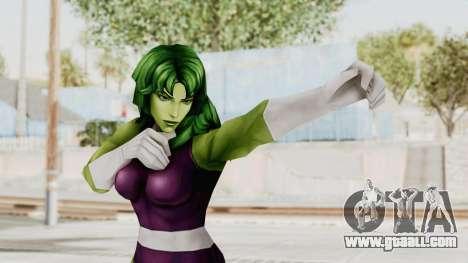 Marvel Future Fight - She-Hulk for GTA San Andreas