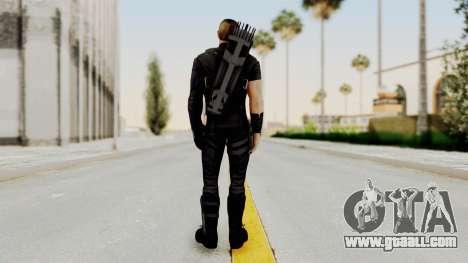 Captain America Civil War - Hawkeye for GTA San Andreas third screenshot