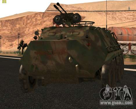 BTR 60 PA for GTA San Andreas left view