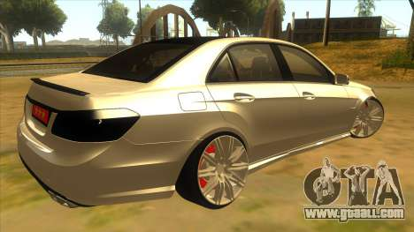Mercedes Benz E250 Authority Tool for GTA San Andreas right view
