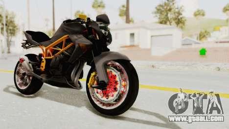 Kawasaki ER 6N Superbike for GTA San Andreas right view