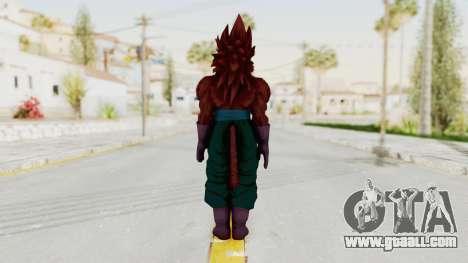 Dragon Ball Xenoverse Vegito SSJ4 for GTA San Andreas third screenshot