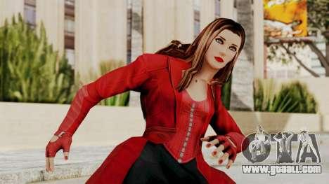 Captain America Civil War - Scarlet for GTA San Andreas