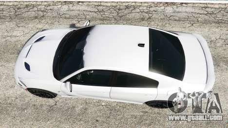 GTA 5 Dodge Charger SRT Hellcat 2015 v1.3 back view