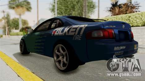 Toyota Celica GT Drift Falken for GTA San Andreas left view