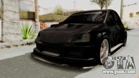 Dacia Logan Loco Tuning for GTA San Andreas back left view