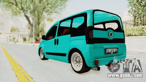 Fiat Fiorino Hellaflush v1 for GTA San Andreas left view