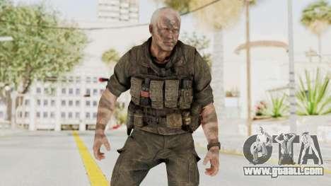 COD Black Ops 2 Hudson Commando for GTA San Andreas