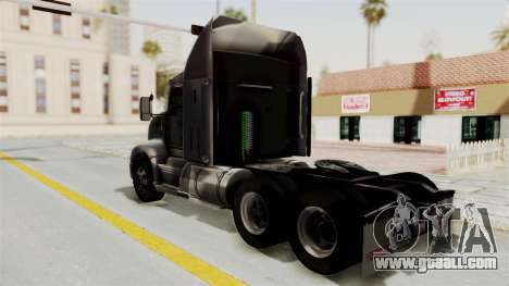 Kenworth T660 Sleeper for GTA San Andreas left view
