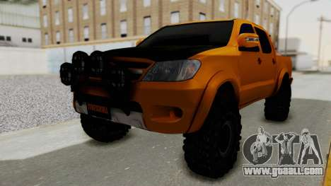 Toyota Hilux 2010 Off-Road Swag Edition for GTA San Andreas