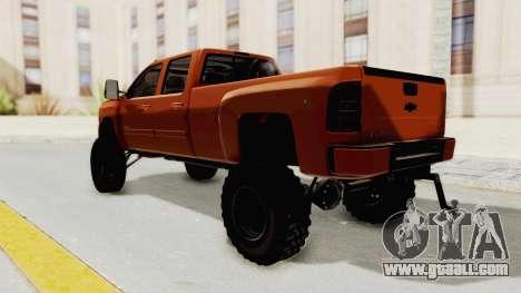 Chevrolet Silverado Long Bed for GTA San Andreas left view