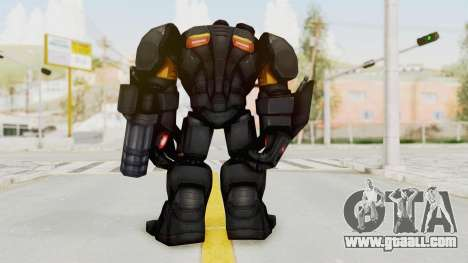 Marvel Future Fight - Hulk Buster Heavy Duty v1 for GTA San Andreas third screenshot
