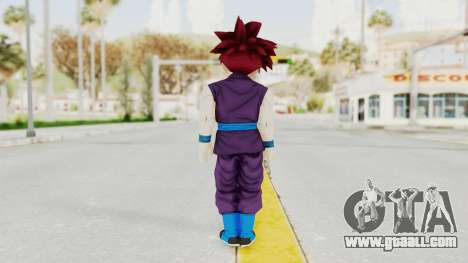 Dragon Ball Xenoverse Gohan Teen DBS SSG v1 for GTA San Andreas third screenshot