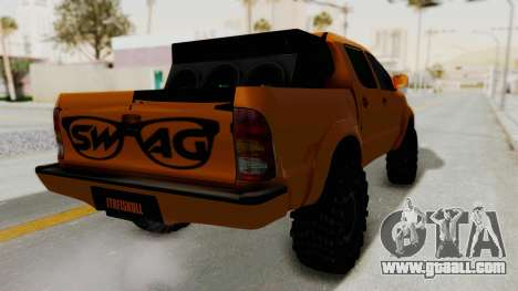 Toyota Hilux 2010 Off-Road Swag Edition for GTA San Andreas right view