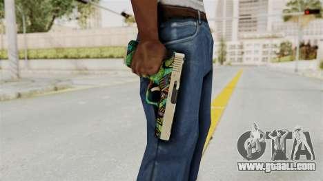 Glock 18C for GTA San Andreas third screenshot