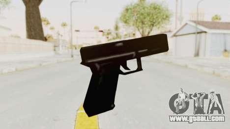 Liberty City Stories - Glock 17 for GTA San Andreas third screenshot