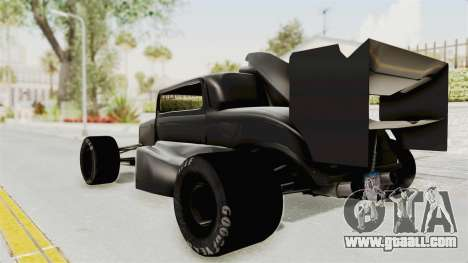 Ford 32 F1 for GTA San Andreas left view
