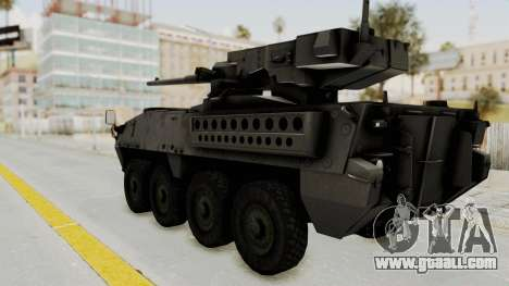 M1128 Mobile Gun System IVF for GTA San Andreas left view