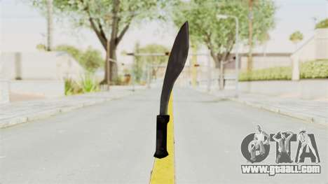 Liberty City Stories - Machete for GTA San Andreas second screenshot