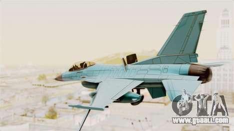 F-16 Fighting Falcon Civilian for GTA San Andreas right view