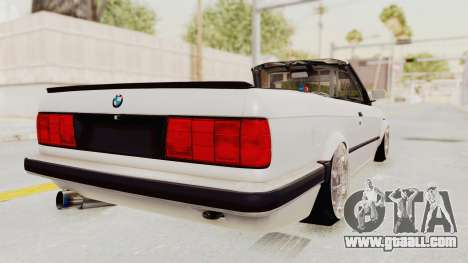 BMW 316i E30 for GTA San Andreas back left view