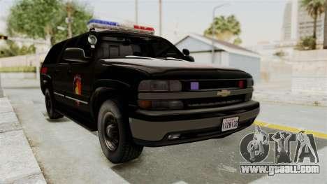 Chevrolet Suburban Indonesian Police RESMOB Unit for GTA San Andreas