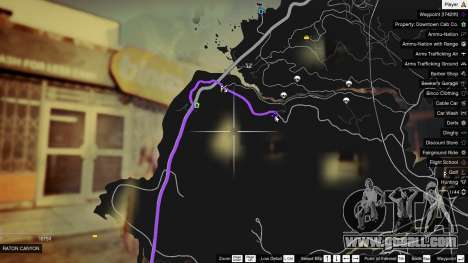 Treasure Map V for GTA 5