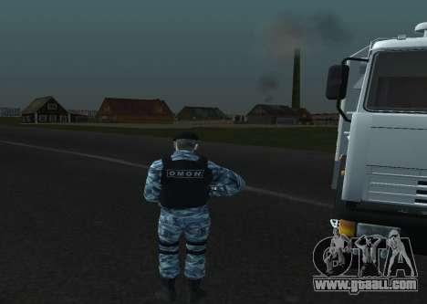 A Riot Policeman for GTA San Andreas forth screenshot