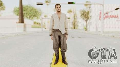 AC Brotherhood - Ezio Auditore Short Hair Civil for GTA San Andreas second screenshot