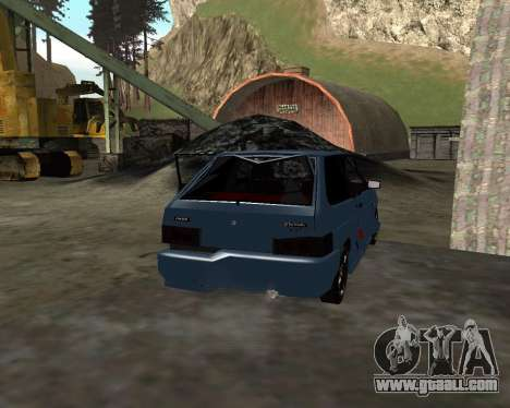 VAZ 2108 for GTA San Andreas engine