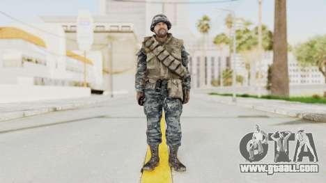 COD BO Russian Spetznas Flak MP v2 for GTA San Andreas second screenshot