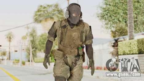 MGSV Phantom Pain Wandering MSF for GTA San Andreas