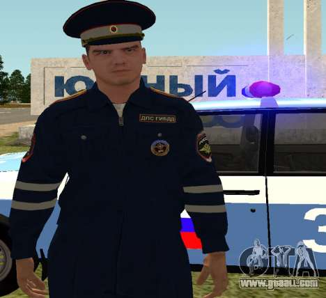 Sergeant DPS for GTA San Andreas