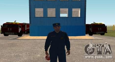 The Colonel EMERCOM of Russia for GTA San Andreas